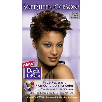 Dark And Lovely Hair Colour - 374 Rich Auburn
